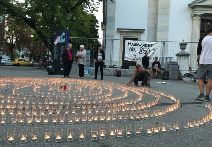 Mahnwache: Stoppt die humanitäre Katastrophe rund ums Mittelmeer