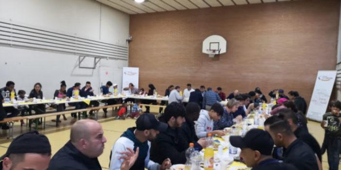 Fastenbrechen Asylzentrum